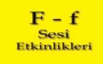 """F"" Sesi Etkinlikleri"