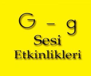 """""""G"""" Sesi Etkinlikleri"""